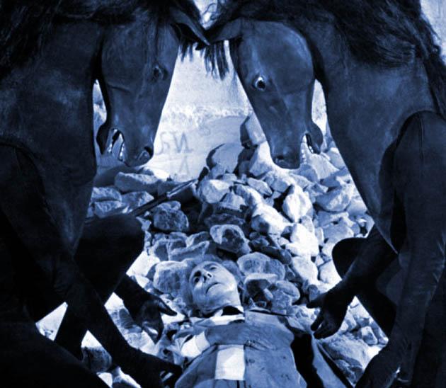 Jean Cocteau Cinema: Handsome protégé Edouard Dermithe plays Man-horse in Testament of Orpheus