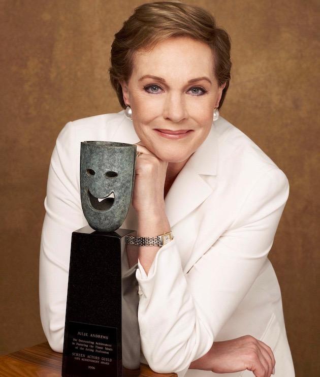 Julie Andrews SAG Awards Life Achievement Honor recipient: British dames rule