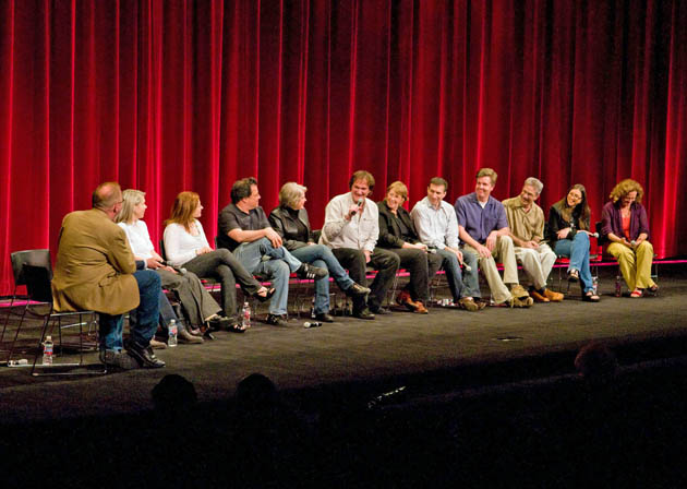 Quentin Tarantino at Pulp Fiction Academy screening