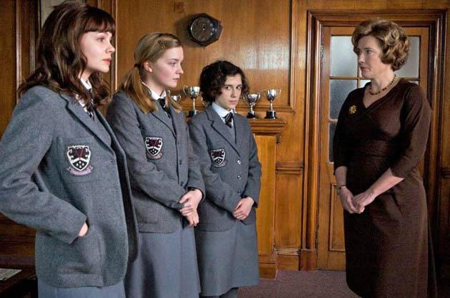 An Education with Emma Thompson Carey Mulligan Amanda Fairbank-Hynes Ellie Kendrick