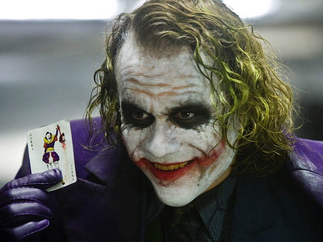 Heath Ledger The Dark Knight. The Joker is critics absolute favorite Best Supporting Actor portrayal