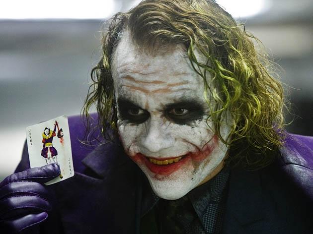 Heath Ledger The Dark Knight. The Joker is critics favorite Best Supporting Actor portrayal