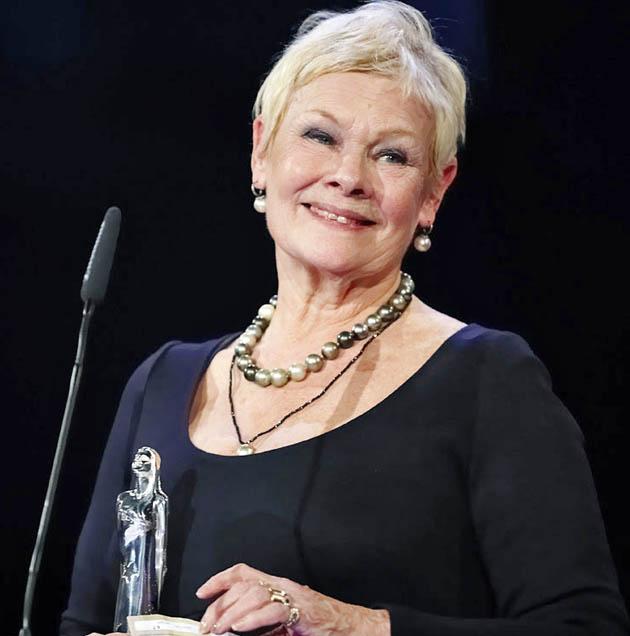 Judi Dench European Film Awards. Oscar winner is Lifetime Achievement Award recipient