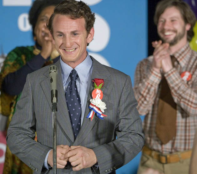 Milk Sean Penn. New York Critics choose murdered gay politician Harvey Milk