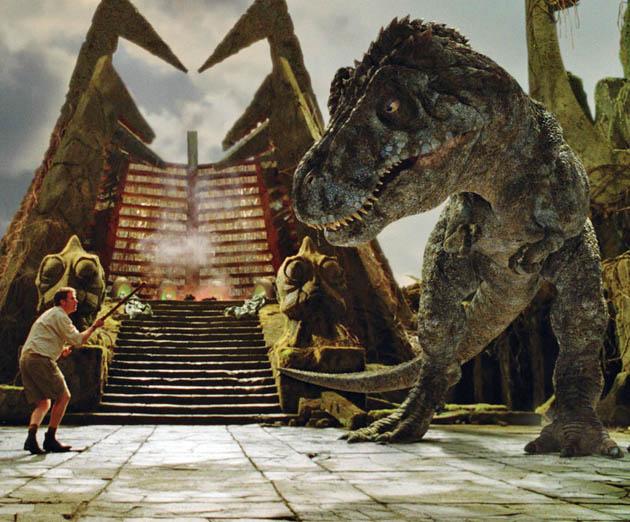 Will Ferrell T-Rex Jurassic Park