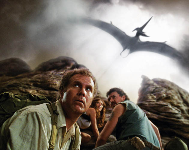 Will Ferrell Land of the Lost movie Anna Friel Danny McBride