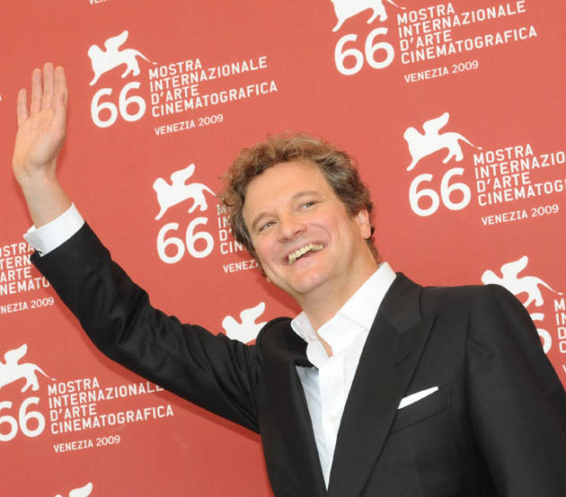 Colin Firth Venice Film Festival