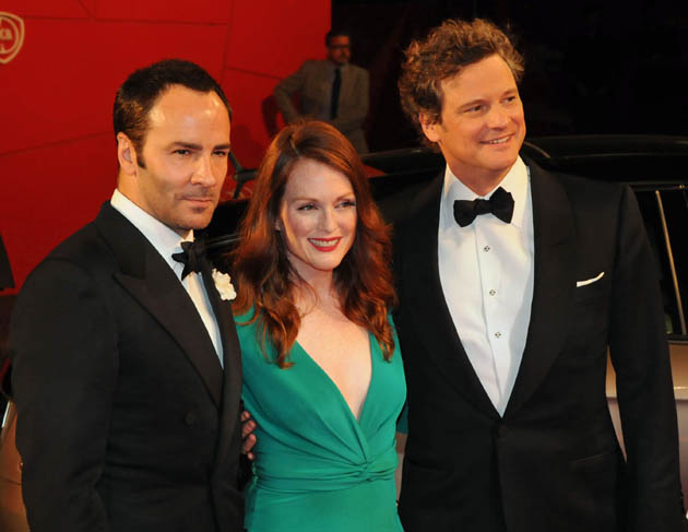 Julianne Moore Colin Firth Tom Ford