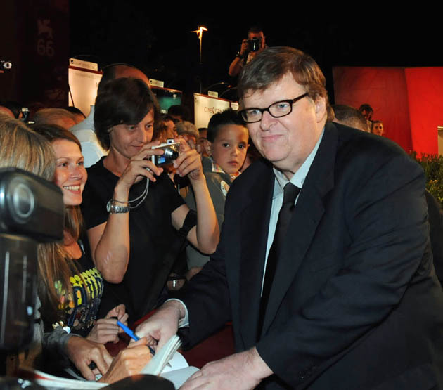 Michael Moore Venice Film Festival