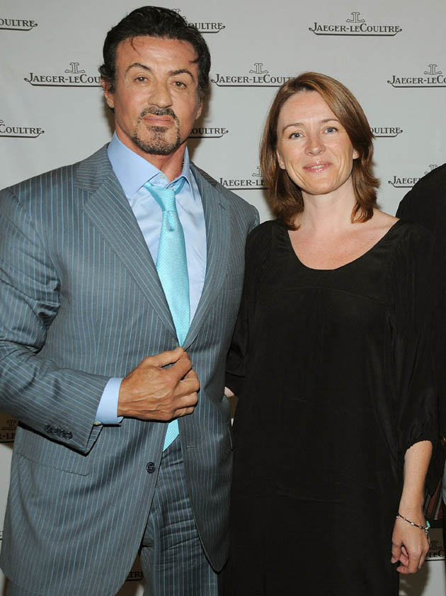 Sylvester Stallone Isabelle Gervais