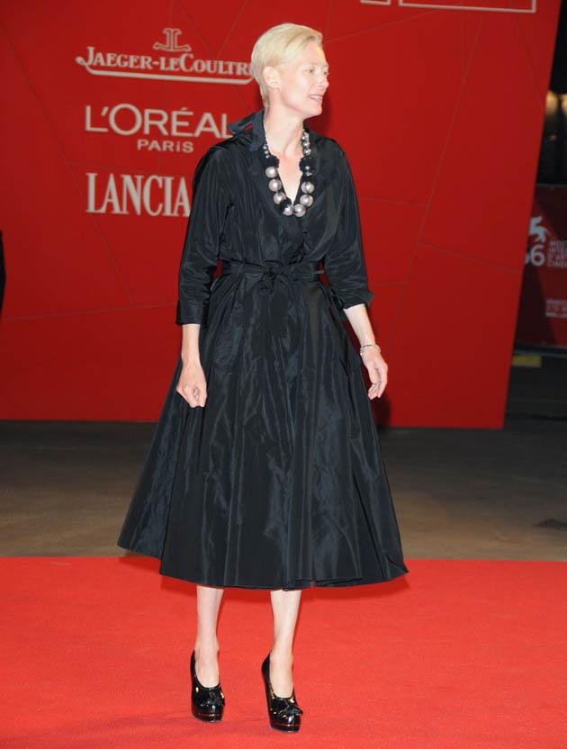 Tilda Swinton Venice Film Festival