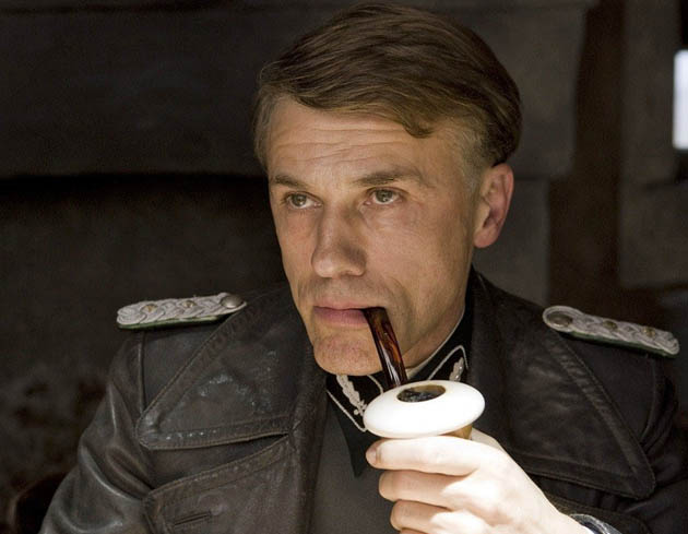Christoph Waltz in Inglourious Basterds: Veteran Austrian actor Best Supporting Actor favorite