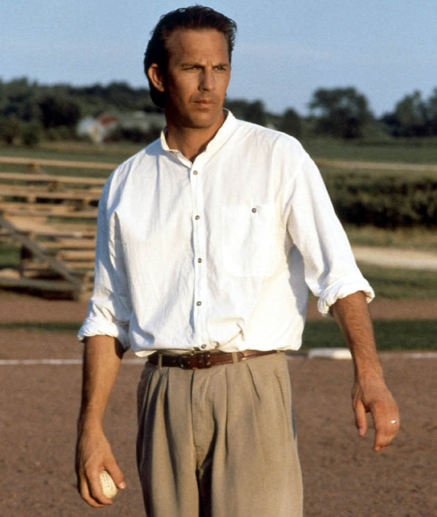 Field of Dreams movie Kevin Costner then 1 of top box office draws on the planet