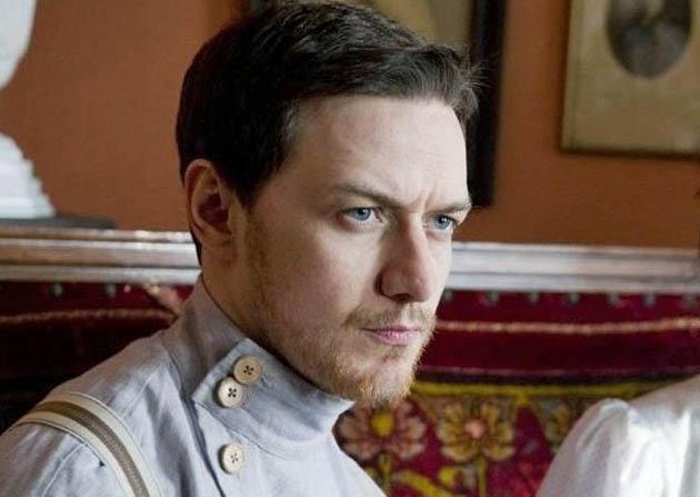 James McAvoy in The Last Station. Leo Tolstoy secretary Valentin Bulgakov absent from Spirit Awards