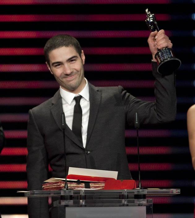 Tahar Rahim European Film Awards: Relative newcomer is Best European Actor for young hoodlum portrayal