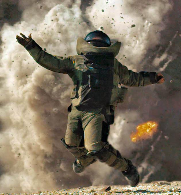 The Hurt Locker Best Film: Explosive Iraq War drama is critics' top pick