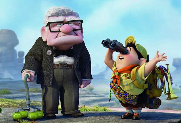 Up Ed Asner Jordan Nagai: Critics favorite films include Pete Docter's animated blockbuster