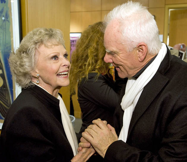 June Lockhart Malcolm McDowell Lost in Space meets A Clockwork Orange