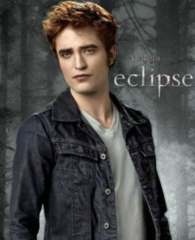 Robert Pattinson uncomfortable Eclipse poster