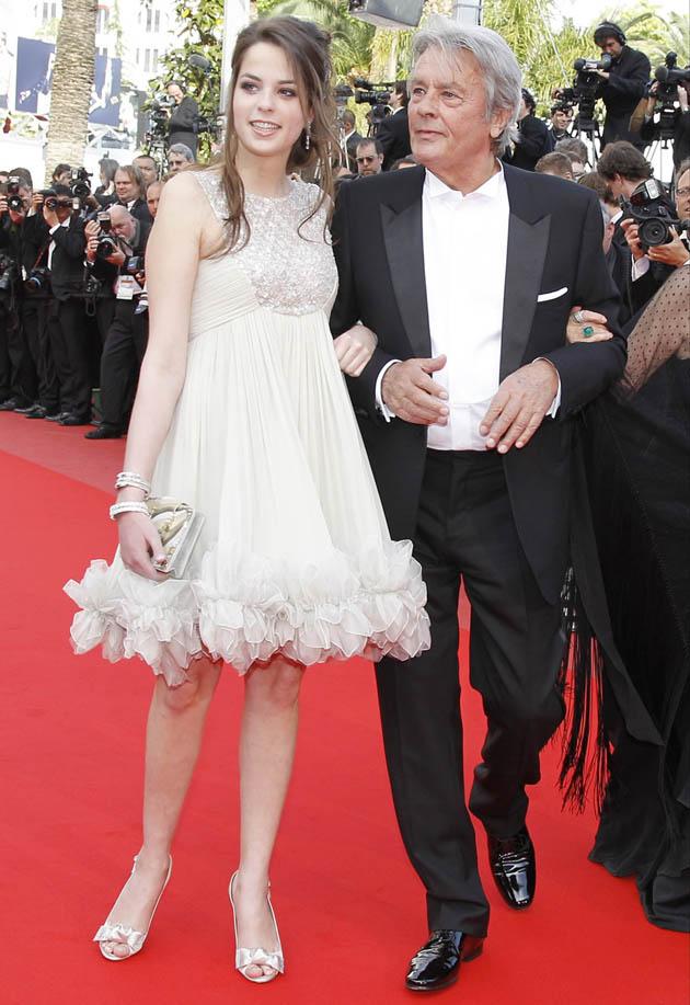 Alain Delon daughter Anouchka Delon