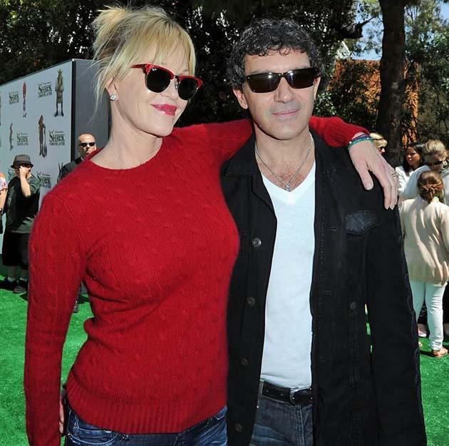 Melanie Griffith husband Antonio Banderas