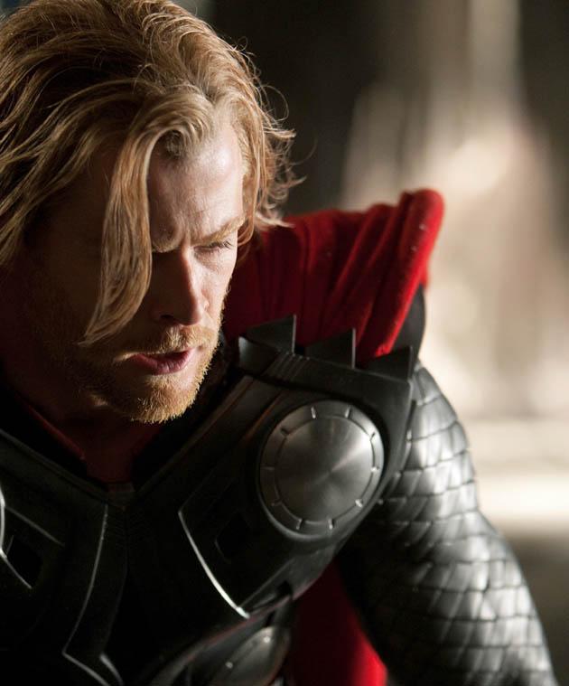 Chris Hemsworth Thor first look