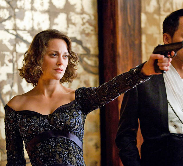 Inception Marion Cotillard dream lady gun