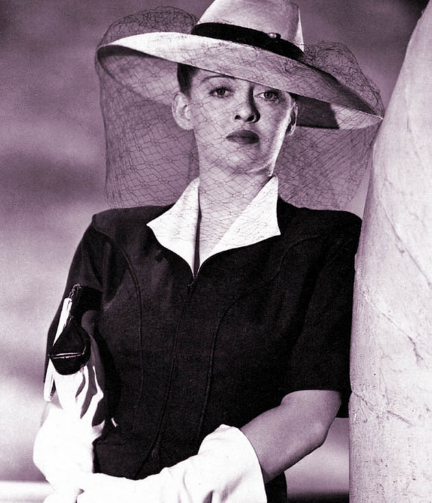 Bette Davis glamorous in Now Voyager. Of Human Bondage mouth-wiping Mildred not the rule but the exception