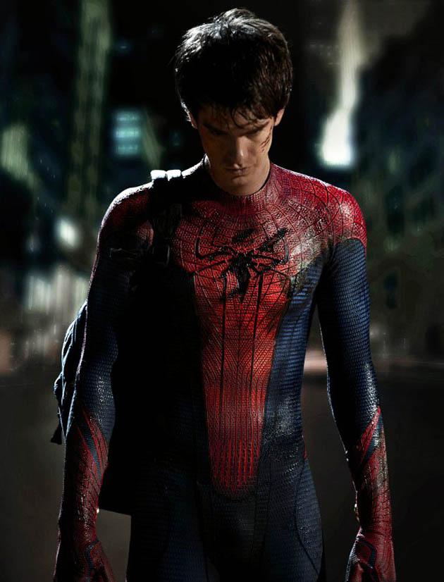 Andrew Garfield Spider-Man suit superhero Peter Parker
