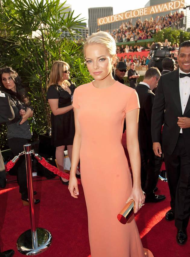 Emma Stone Golden Globes Best Actress nominee