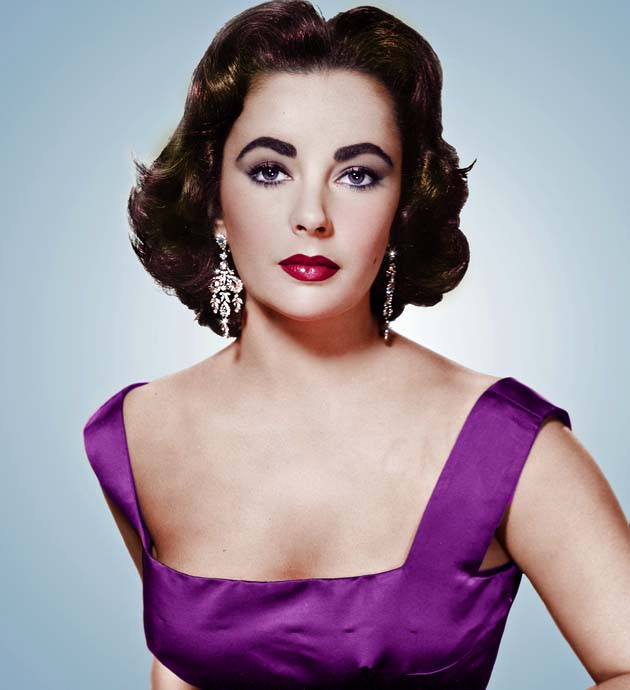 Elizabeth Taylor young two-time Oscar winner hospitalized