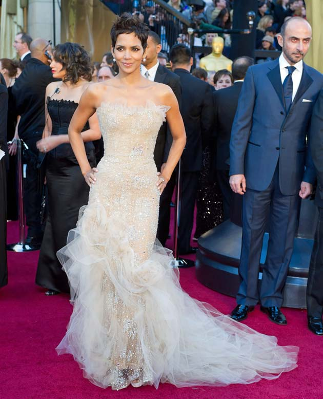 Halle Berry Oscar Dress