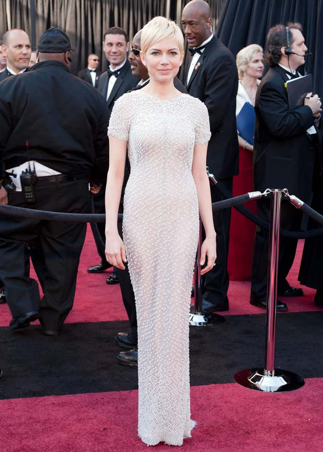 Michelle Williams Oscar Red Carpet
