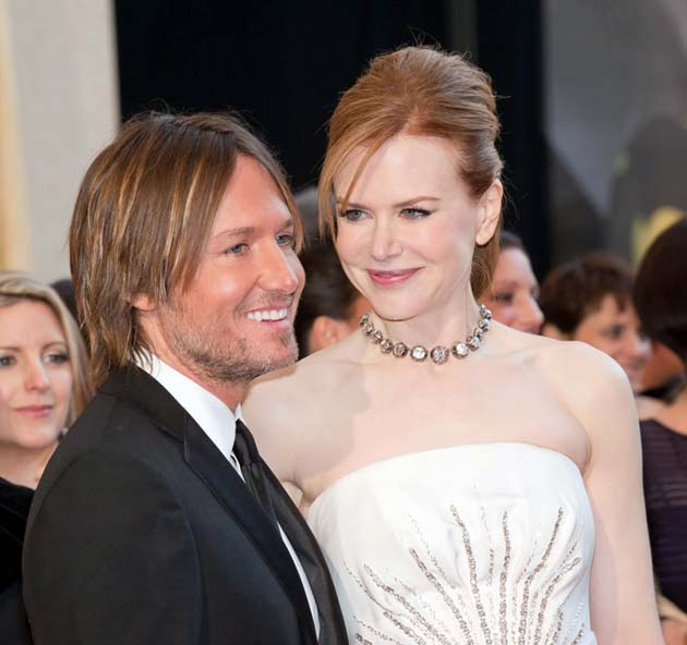 Nicole Kidman husband Keith Urban