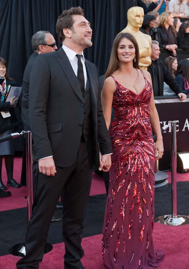 Penélope Cruz and Javier Bardem Oscar Red Carpet