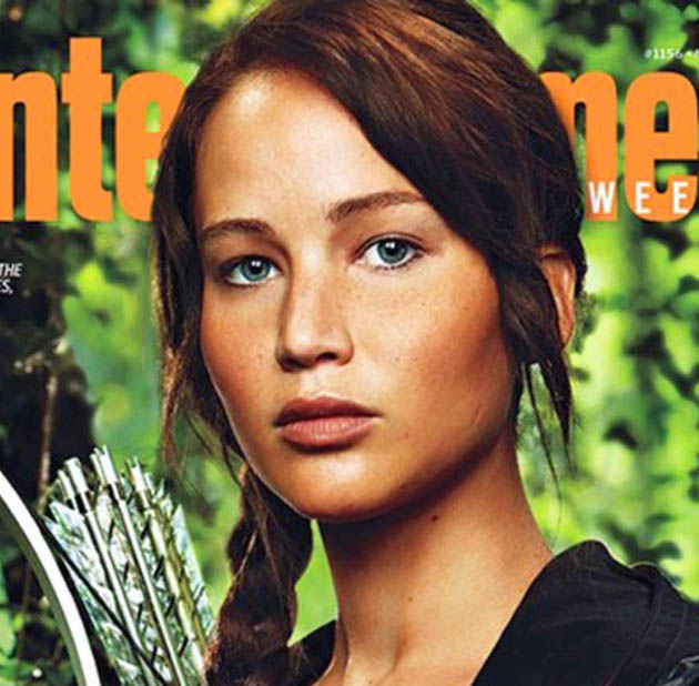 Jennifer Lawrence The Hunger Games Katniss Everdeen