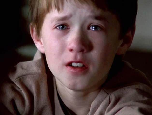 Haley Joel Osment The Sixth Sense I hear living dead people