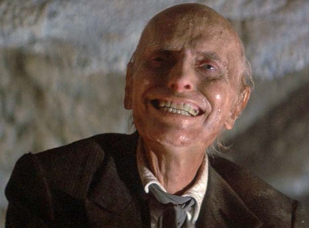 Julian Beck Poltergeist II The Other Side living dead as demonic Christian clergyman