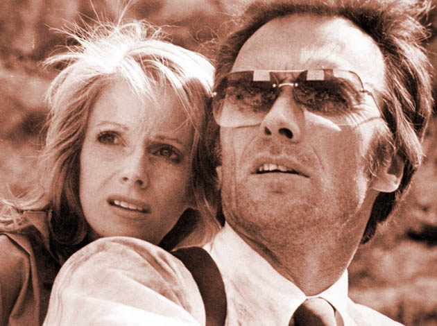 Clint Eastwood Sondra Locke The Gauntlet: Prior to ugly split seen in 6 movies together