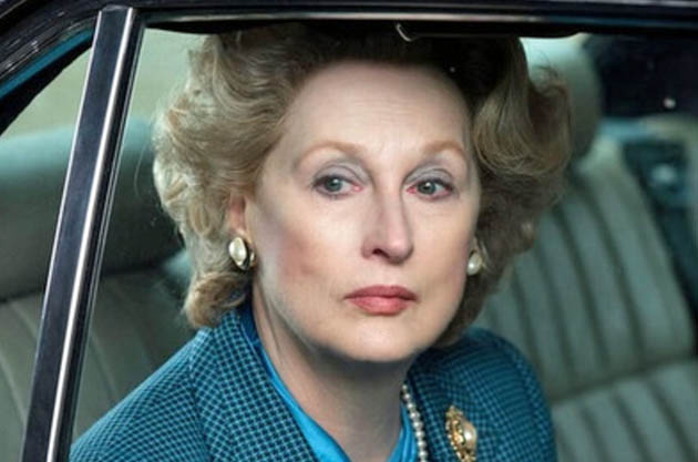 Meryl Streep The Iron Lady Thatcher-light: Golden Globe Awards Best Actress shoo-in