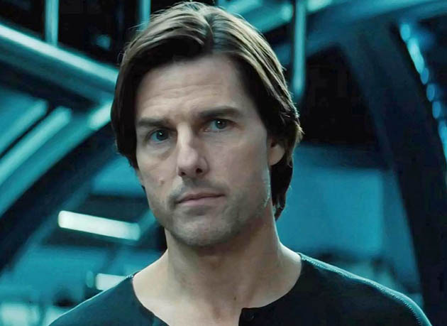 MI4 Tom Cruise as Ethan Hunt in Ghost Protocol: Pirouettes and assassins plus the threat of nuclear annihilation