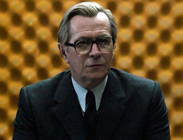 Tinker Tailor Soldier Spy: Gary Oldman as George Smiley. John le Carré Cold War novel is London fave