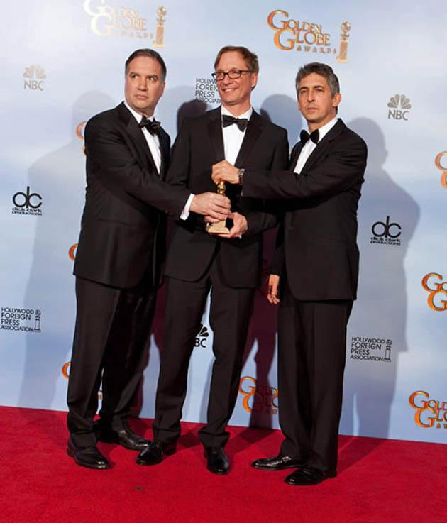 Alexander Payne Jim Taylor Jim Burke less controversial Golden Globe