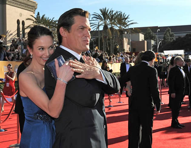 Diane Lane and husband Josh Brolin SAG Awards nominee and previously shortlisted guest