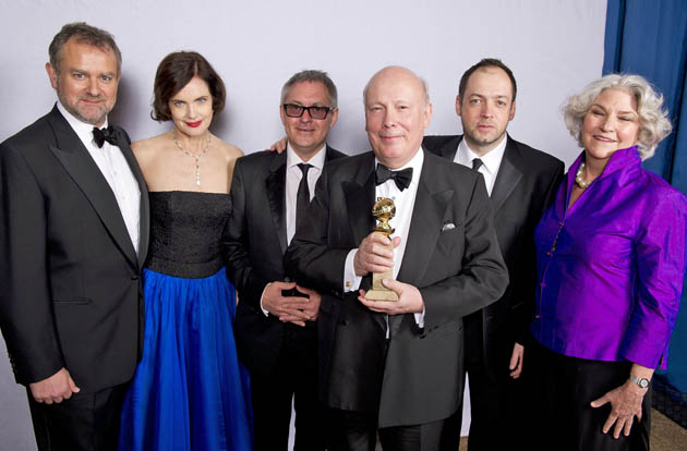 Downton Abbey cast Hugh Bonneville Elizabeth McGovern Golden Globes