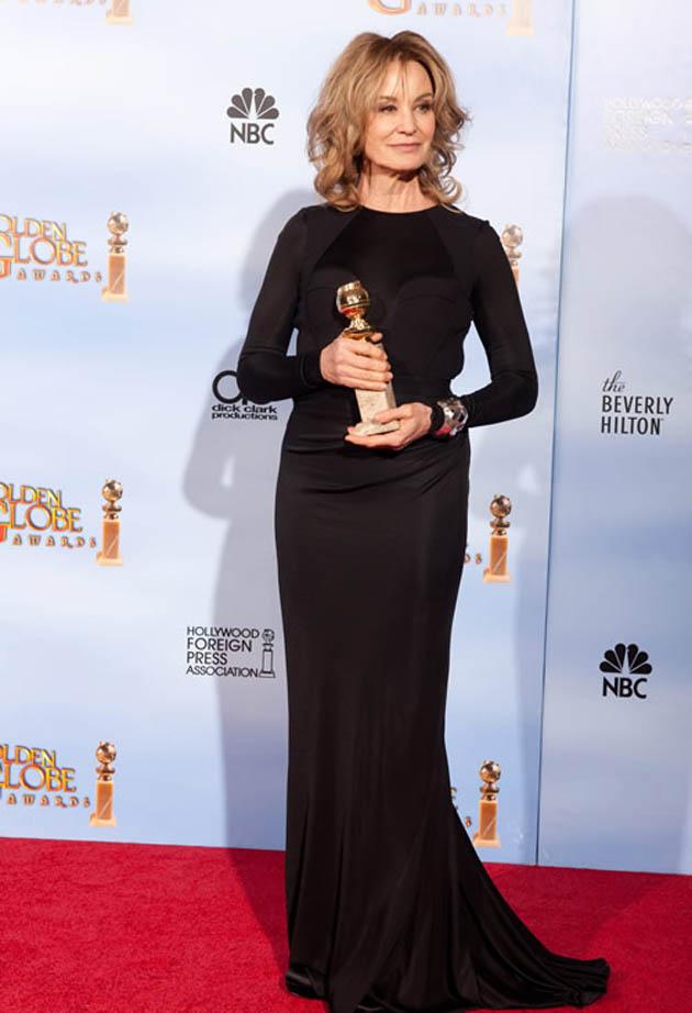 Jessica Lange Golden Globes five-time winner