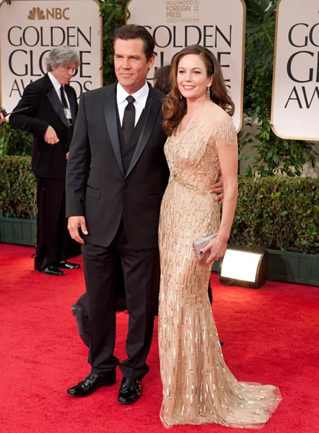 Josh Brolin and wife Diane Lane Golden Globes' Best Actress