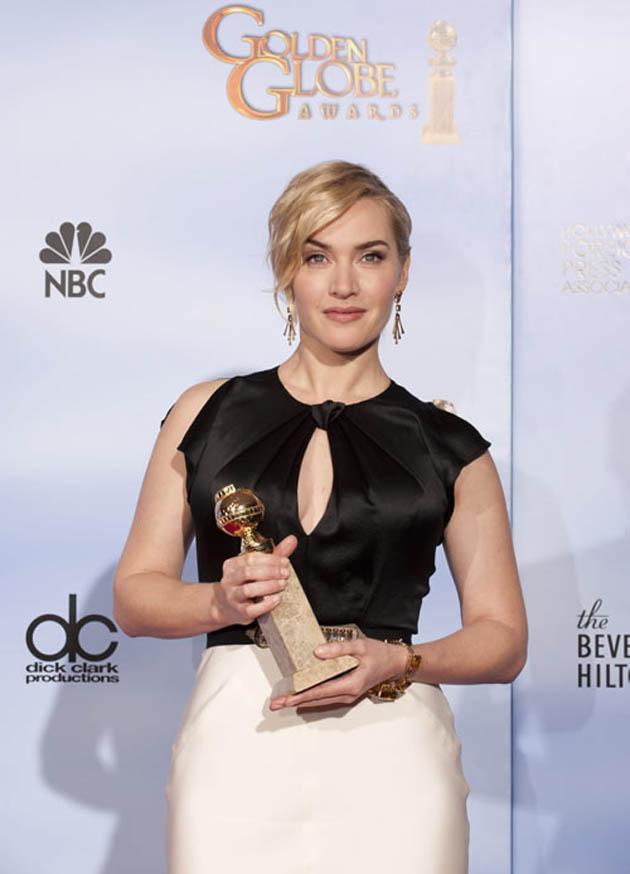 Kate Winslet Best Actress Golden Globe winner