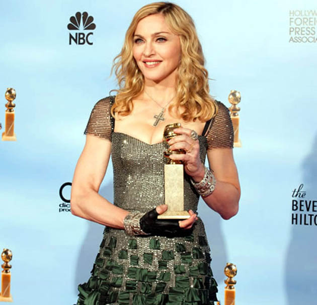Madonna Golden Globes winner