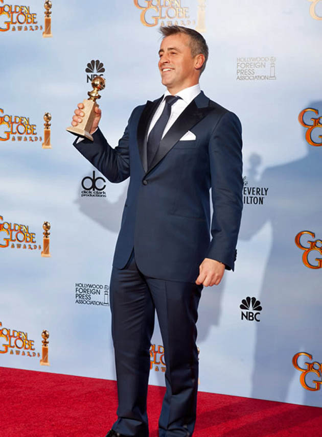 Matt LeBlanc Golden Globe winner